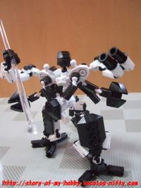 アソブロック:ロボット②