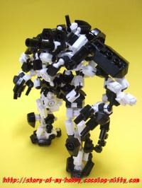 アソブロック作品:ロボットa①