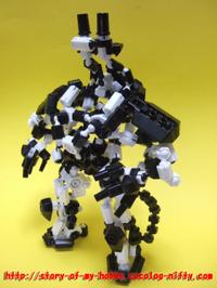 アソブロック作品:ロボットa④
