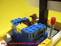 レゴブロック作品:海賊船②
