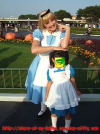アリスがアリスとツーショット♪